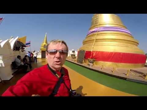 Vlog #30 Adventure to Golden Mountain Bangkok
