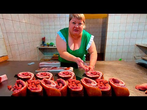 Рынок ЛНР: ЭТО МЯСО ЕДЯТ В ЛУГАНСКЕ. Зарплаты и цены на овощи, фрукты, сыры и одежду