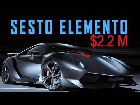 $2.2 MILLION Lamborghini Sesto Elemento Overview: 0 60 MPH 2.5s