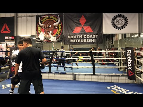 Behind The Scenes With Mikey Garcia At RGBA Riverside - esnews boxing