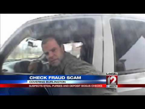 Check Fraud Scam: Suspects steal purses and deposit bogus checks
