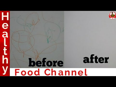 How to Remove Crayon marks from walls | The Easiest way to clean crayon and pencil marks from wall