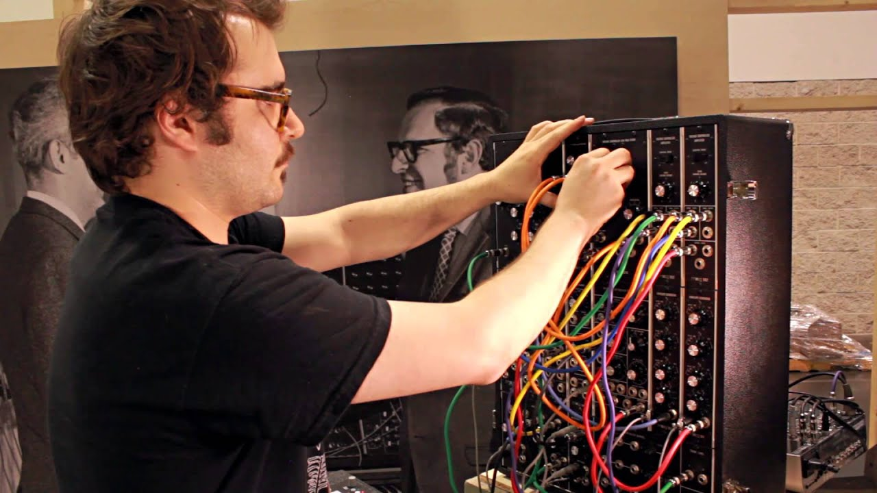 moog model 15 modular synth demo direct out audio youtube. Black Bedroom Furniture Sets. Home Design Ideas