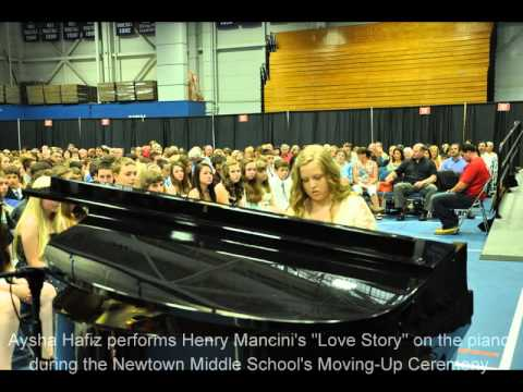 Slideshow: Newtown Middle School Moving-Up Ceremony