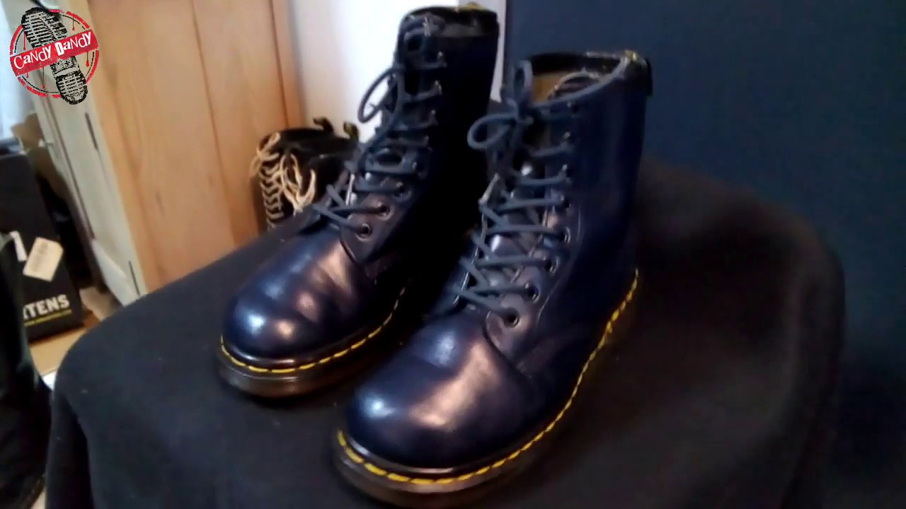 Dr Martens 1460 Blue Navy Vintage Made in England (MIE