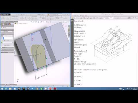 EGN 3433C: SolidWorks CSWA Tutorial - Part Modeling III