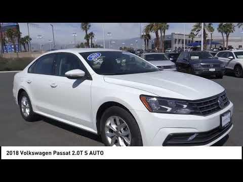 2018 Volkswagen Passat SAN DIEGO ORANGE COUNTY LOS ANGELES INLAND EMPIRE PALM SPRINGS P1349