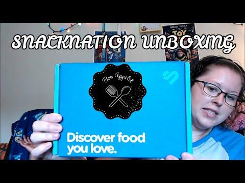 SnackNation June Unboxing