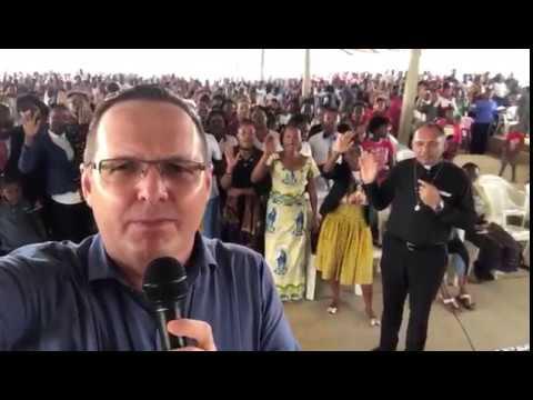 Orando pelo Brasil, de Cabinda - Angola, na África