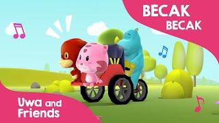 Becak becak - Lagu Anak Indonesia 90 an
