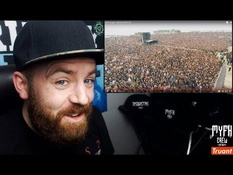 lamb of god - laid to rest live @ Download - REACTION!