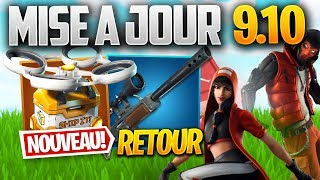 UPDATE 9.10: AUTO SEMI RETURN, HOT POINTS - Other on FORTNITE! (Patch Note 9.10)