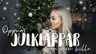 Öppnar julklappar från min kille!!!