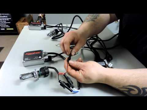 Xentec 55 Watt Bi-Xenon HID Installation and Review 5000K