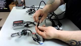 xentec 55 watt bi xenon hid installation and review 5000k
