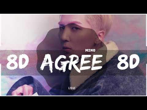⚠️ [8D AUDIO] WINNER MINO - AGREE (암) [USE HEADPHONES 🎧] | MINO | BASS BOOSTED | 8D