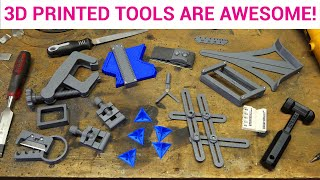 12 3D printed tools you need for your workshop