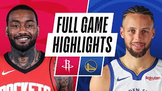 Game Recap: Warriors 125, Rockets 109