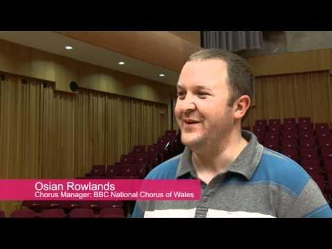 RoboCup 2011 - BBC National Chorus of Wales send off