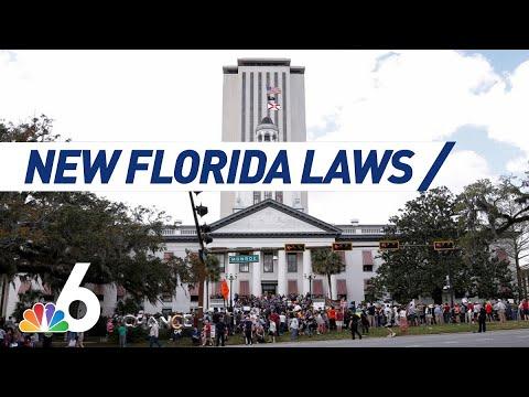 Super Martinez - Mira la lista de todas las leyes que entran en vigor hoy en la Florida