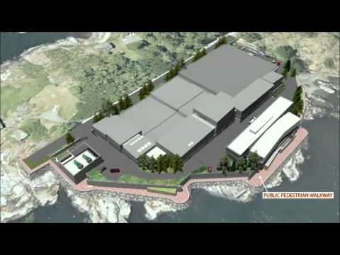 Flyover: 3D Massing Model of Wastewater Treatment Plant at McLoughlin Point