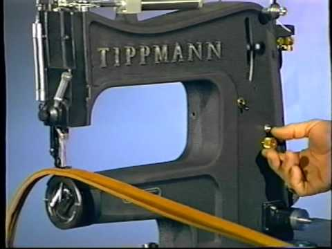 Tippmann Aerostitch Sewing Machine In Action YouTube Simple Tippmann Boss Sewing Machine