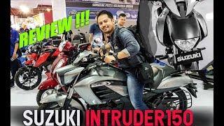 Review Suzuki Intruder 150   Pekan Raya Jakarta 2018