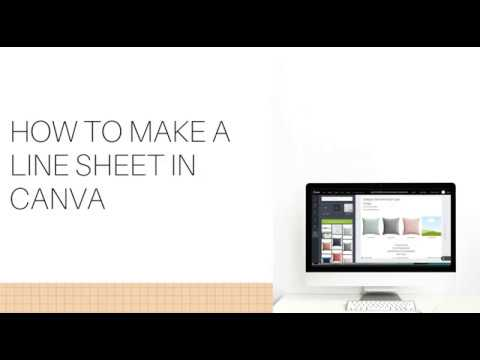 From chores to money management and more google sheets templates d. How To Make A Line Sheet In Canva In Minutes Youtube