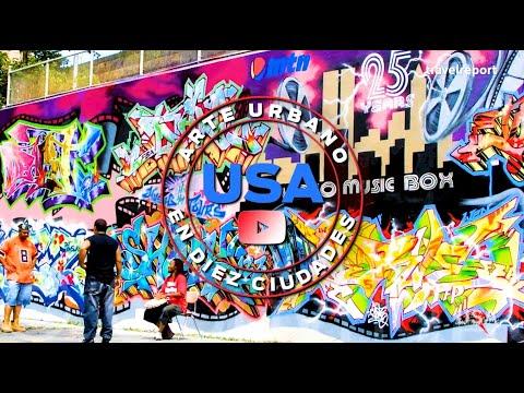 10 ciudades para disfrutar del arte urbano en Estados Unidos