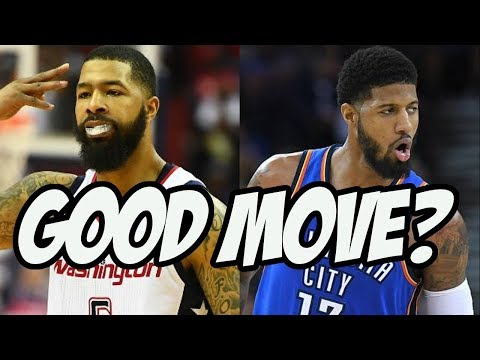 Is Markieff Morris A Big Pickup For The OKC Thunder?