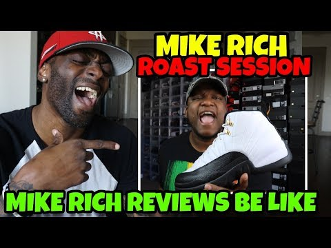 Mike Rich Roast Session 😂🤣 Mike Rich Reviews Be Like.........