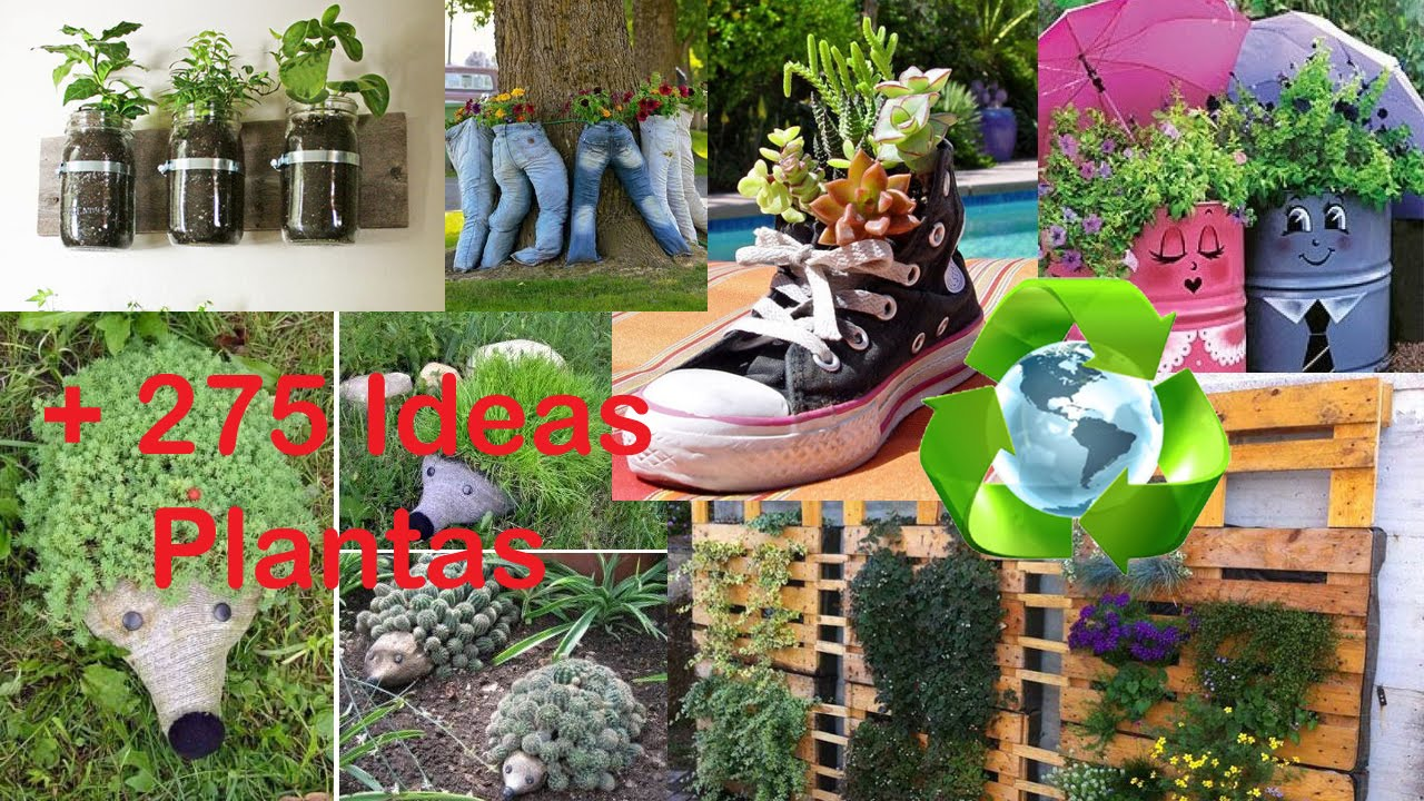 Recycling for plants ideas youtube - Ideas para jardineria ...
