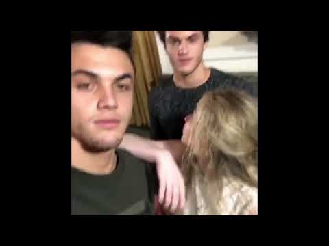 SABRINA CARPENTER HANGING OUT WITH THE DOLAN TWINS thumbnail