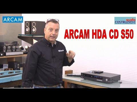 ARCAM HDA CD S50 Test di Sbisa' www.audiocostruzioni.com HD