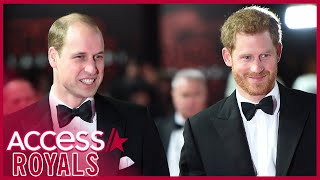Prince William & Prince Harry Will Not Walk Together At Prince Philip's Funeral