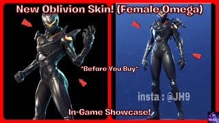*NEW* Oblivion Skin! (Female Omega) *Before You Buy* | Fortnite Battle Royale