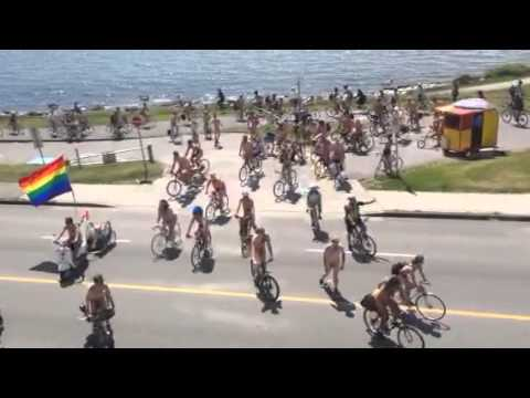 Naked Bike Ride 2014 Vancouver