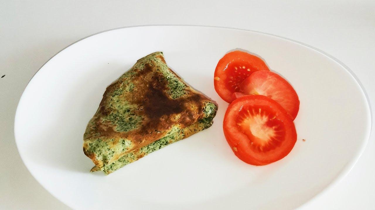 Творожные блины пп - простой и быстрый рецепт