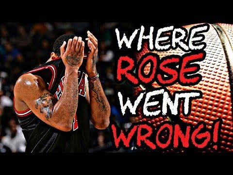 Where Derrick Rose went WRONG in his Career! (SAD TRUTH)