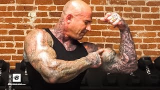 15 Minute Biceps & Triceps Workout For Bigger Arms | Jim Stoppani, Ph.D.