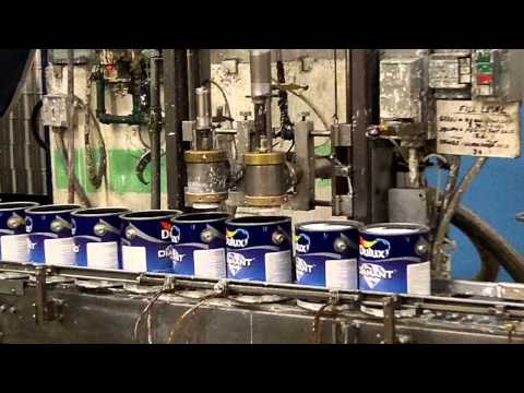 Dulux Paint factory tour