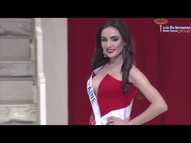 Виктория Киосе Miss International Ukraine 2016: выход в вечерних платьях