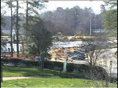 Timelapse of Jimmye Laycock Football Center construction