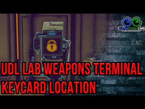 the-outer-worlds-udl-lab-weapons-terminal-keycard-location-|-how-to-get-the-gloop-gun-science-weapon