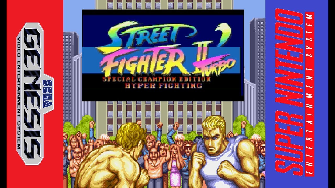 Street Fighter 2 Turbo Special Champion Edition Hyper Fighting