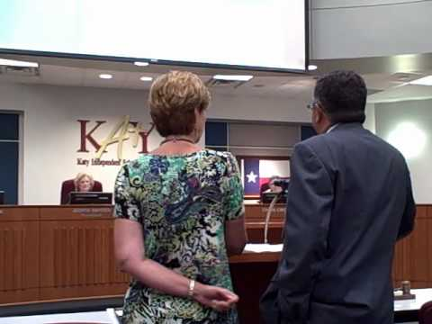 Katy ISD's Kathy McDonald Honored.wmv