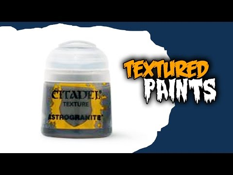 How To Use Citadel Textured Paints