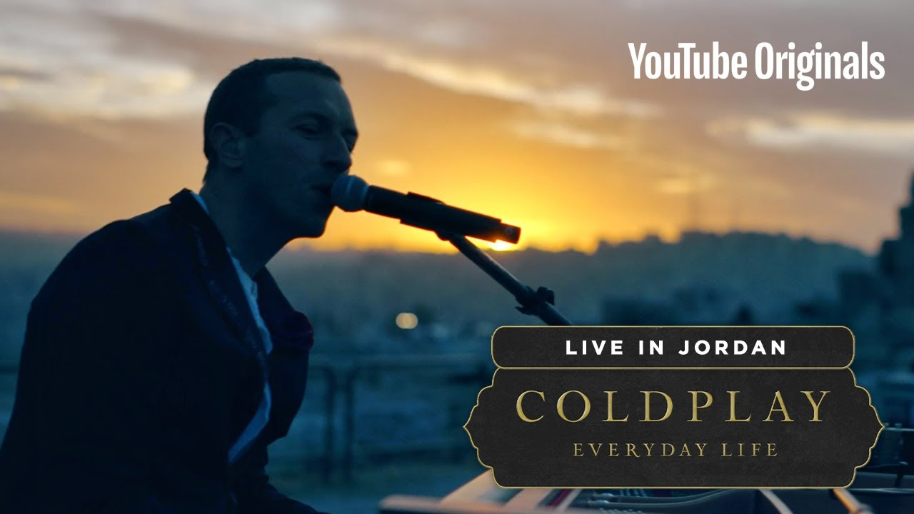 Coldplay Everyday Life Live in Jordan