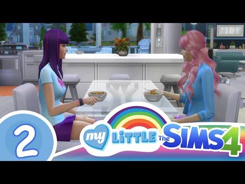 Los sims 4 - MLP - Capitulo 2 - Pinkie pie día de amigas