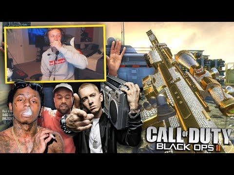 13 YEAR OLD RAPPER SPITS AMAZING FREESTYLE ON BLACK OPS 2!!